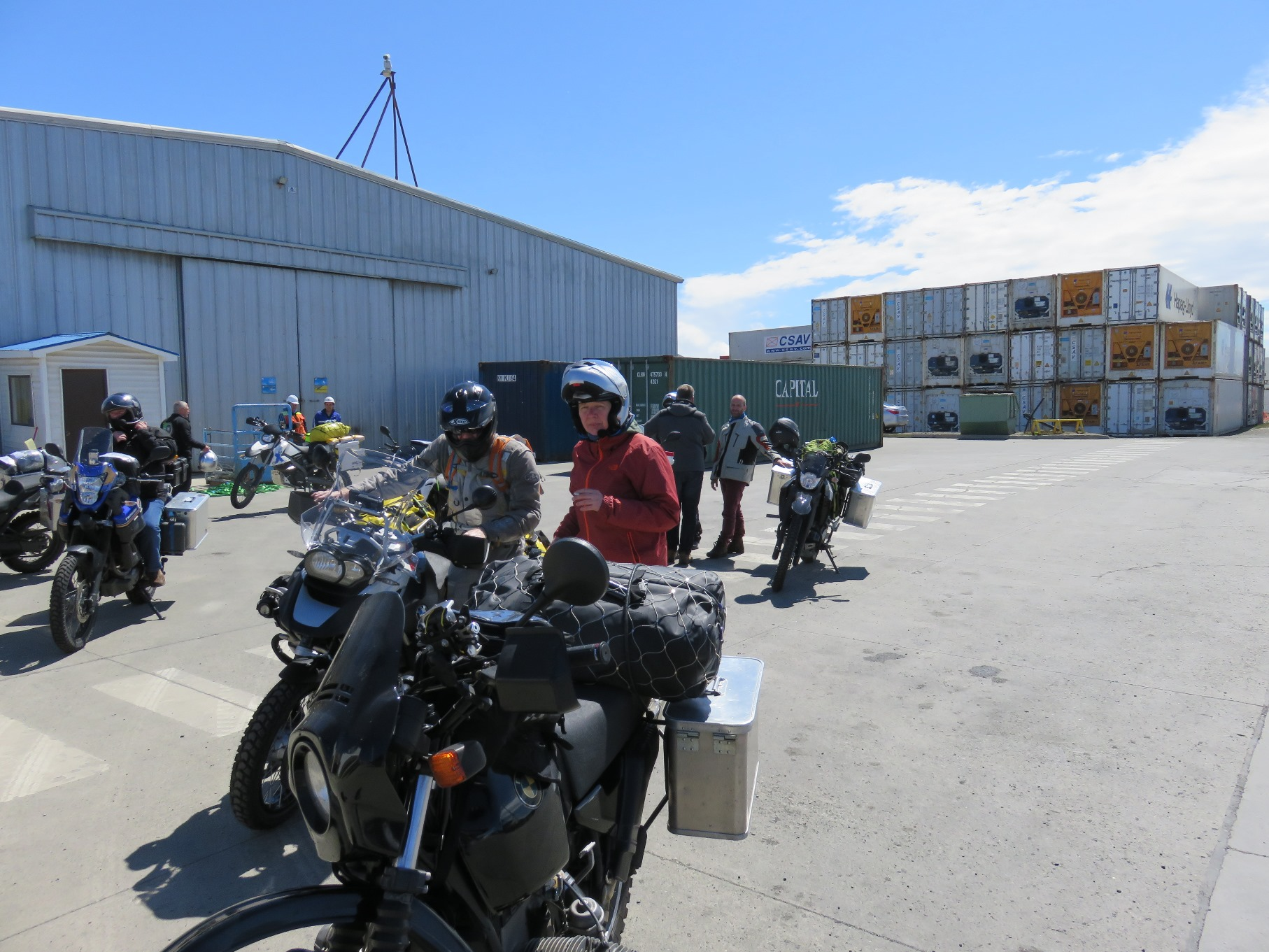 Ankunft Moped8